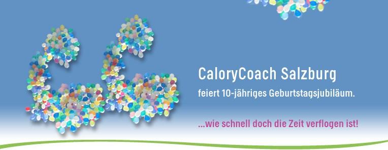 CaloryCoach - Jubiläum in Salzburg. das Ernährungs- und Bewegungsinstitut
